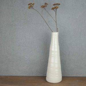 Vase Weiß riesig