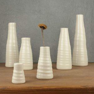 Vasen Set weiß